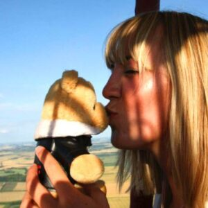 Bear In A Box Gift Package Hot Air Balloon Ride Experience For One