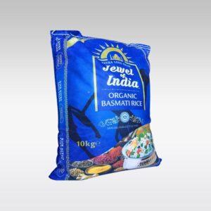 Jewel Of India Organic Basmati Rice 10 Kg