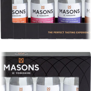 Masons - Yorkshire Gin Taste Experience Gift Set 5x 5cl Miniatures