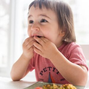 Introducing Solids with Baby Led Weaning