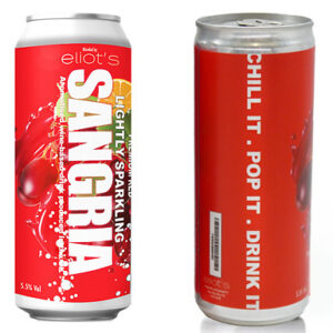 12 or 24-Pack of 250ml Sangria Cans