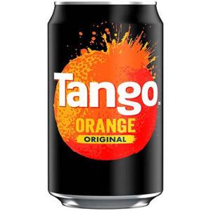 24-Pack of Tango Original Orange Cans 330ml