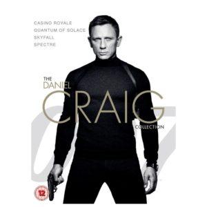 James Bond - The Daniel Craig Collection 4-Pack (DVD)